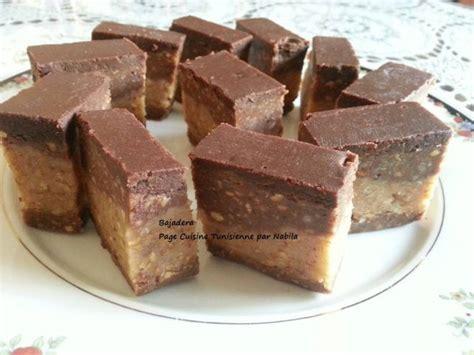 bajadera dessert au chocolat sans cuisson tunisme