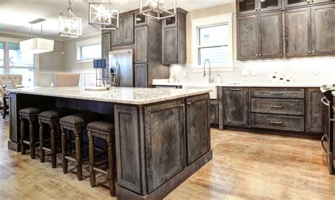 rustic shaker gray kitchen cabinets we ship everywhere