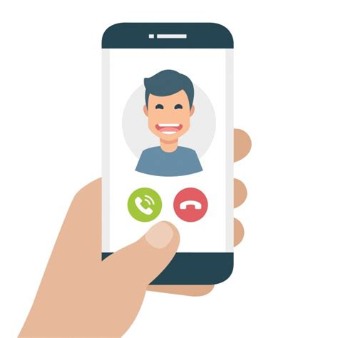 Free Calls To Mobile Phones mobile phone with incoming call vector free