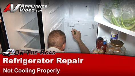 refrigerator repair diagnostic  cooling warm