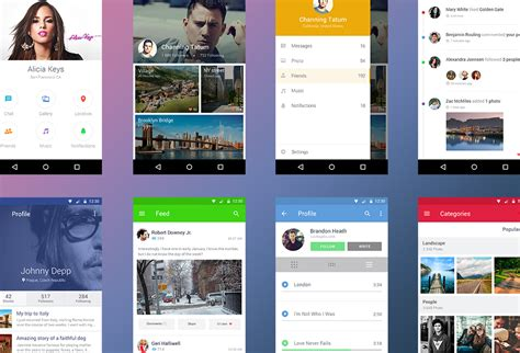android ui free android ui kit graphicsfuel