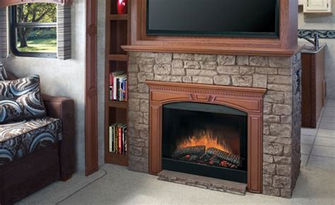 dimplex   sided built  electric fireplace insert