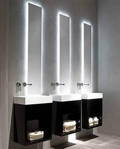 luminaire salle de bain miroir dootdadoocom idees de With luminaire de miroir