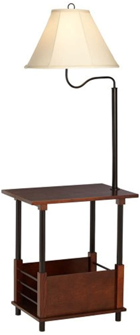 black end table with l attached side tables with ls attached