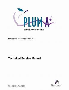 Hospira Plum A  Infusion Pump Service Manual