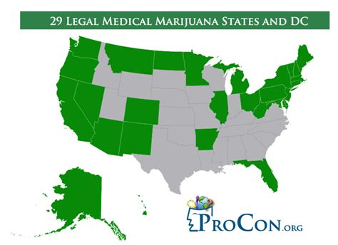 29 marijuana states and dc marijuana procon org