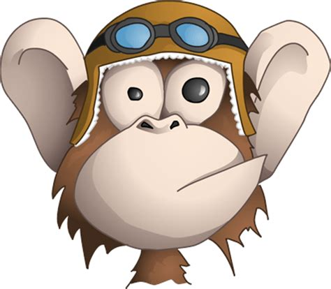 silly monkey cliparts   clip art