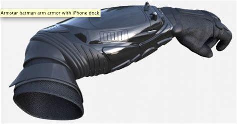 Batman-like Kevlar Body Armor With An Iphone