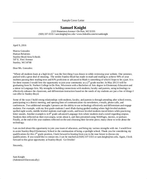 cover letters for new teachers 28 images cover letter