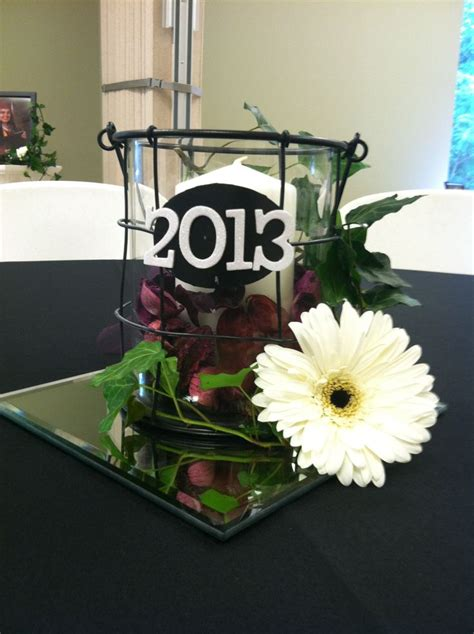 graduation table centerpiece table decorations
