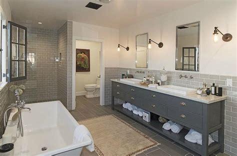 gray bathroom contemporary bathroom kishani perera