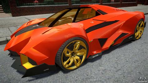 lamborghini egoista orange for gta 4