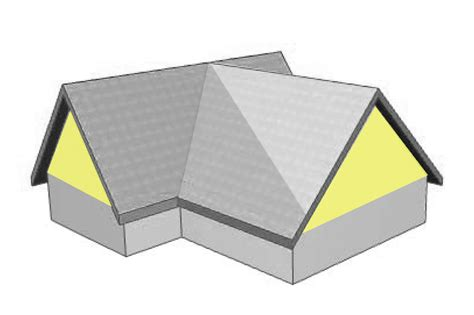 Gable Hip Roof by Gable