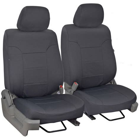 charcoal gray custom truck seat covers  ford
