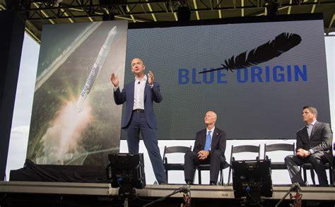 origin bezos jeff amazon space launch florida facility plans rocket founder vs spacecraft musk rockets announces laptop build making ceo