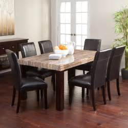 Buy Kitchen Table Set by Granite Dining Table Faux Marble Home Galore