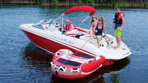 tahoe boats  qi runabout boat youtube