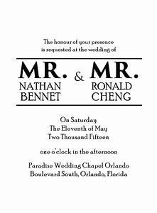 gay wedding invitations wording various invitation card With gay wedding invitations samples
