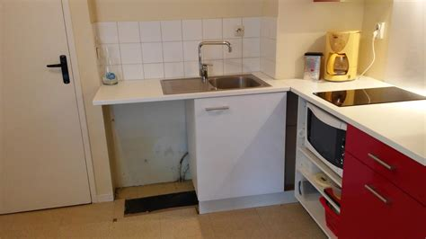 eau de cuisine remplacement d un meuble de cuisine créatherm plomberie