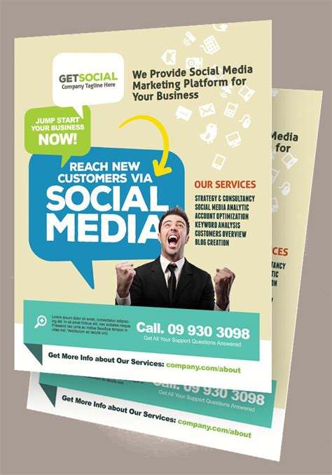 17 Marketing Flyer Template Free Psd Eps Documents Free Marketing Flyer Templates Coastal Flyers