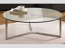 Round Metal Coffee Table for Aesthetic Focal Point