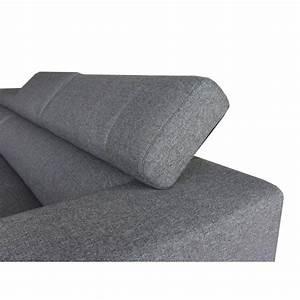 canape d39angle cote gauche design 5 places avec meridienne With tapis yoga avec canape d angle tissu 8 places