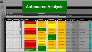 Risk Register Template Excel Free Download Risk Template In Excel With Risk Register Part 4