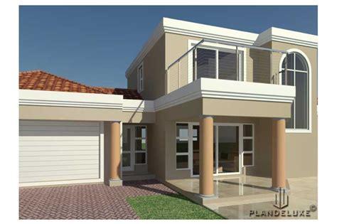 bedroom house plan  garages  double story plandeluxe
