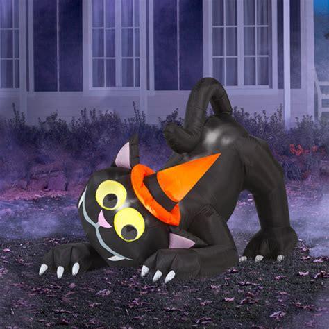 gemmy industries airblown animated cat halloween