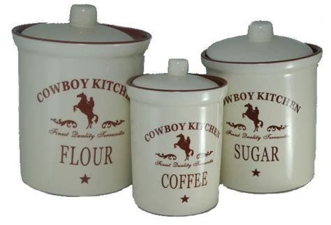 Western Kitchen Canisters by Pin By Debra Perkins Thoroughman On Great Ideas