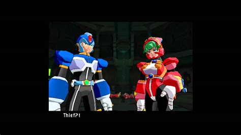 Man On The Bench by Let S Play Megaman X Command Mission Marino Joins The