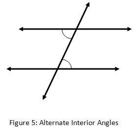 alternate interior angles geometry angle pair
