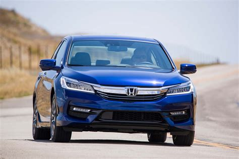 2017 Honda Accord Hybrid Gets More Power, Improved