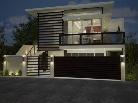 inexpensive modern house gates  fences designs architecture pinterest modern house