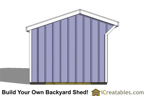 10x14 barn shed plans 10x14 run in shed plans barn run in shed plans