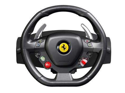 thrustmaster ferrari  italia wheel fuer pc und xbox