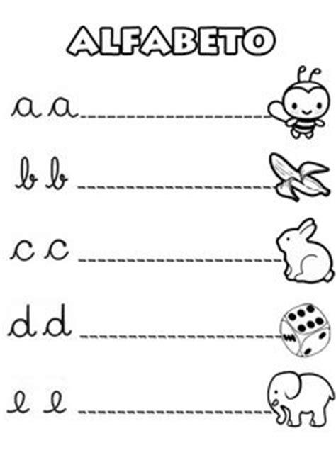 abecedario letra cursiva mayuscula minuscula para imprimir imagen aprendizaje