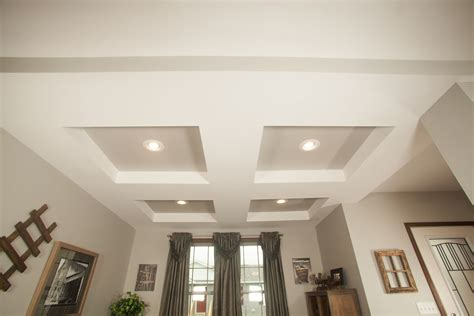 drywall cross tray ceiling pennwest homes