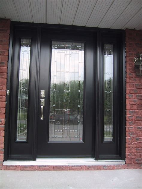 Glass Entry Doors For Home by 20 Black Front Door Designs For An Looking Living
