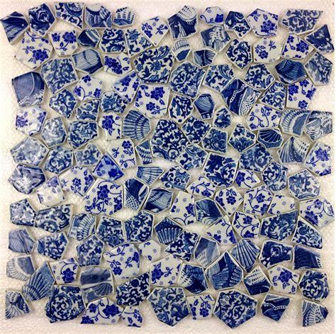 ceramic mosaic blue porcelain mosaic wall tiles backsplash pcmt116 3d mosaic tile ceramic mosaic kitchen tile