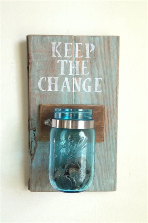 keep the change laundry room decor by shoponelove on etsy home decorating diy