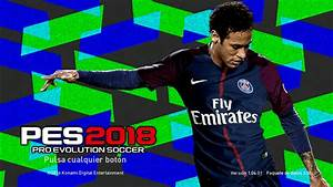Neymar StartScreen PES2018 Released 11082017