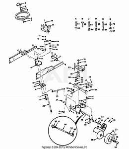 Poulan Pp2050d Tractor Parts Diagram For Steering