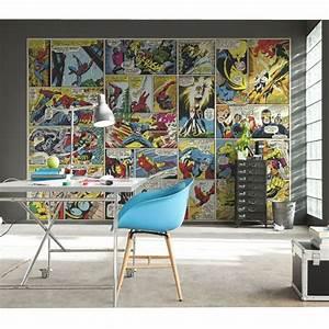 marvel comics und avengers tapete wand wandmalerei dekor With markise balkon mit cars tapete roller