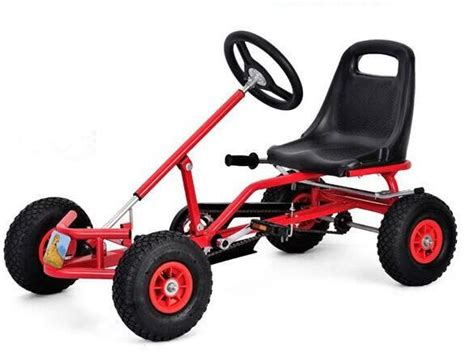 Kids Go Kart Pedal Car, Red, price, review and buy in ...