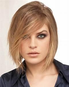 Carré Mi Long Plongeant : coiffure femme carre plongeant mi long ~ Dallasstarsshop.com Idées de Décoration