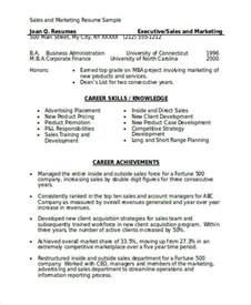 best resume sles pdf marketing resume format template 7 free word pdf format download free premium templates