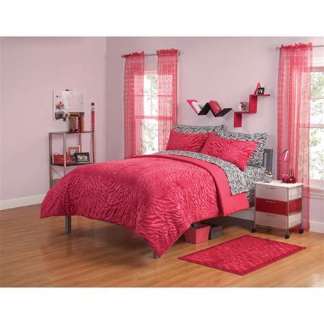 your zone gray and yellow zebra comforter set walmart com