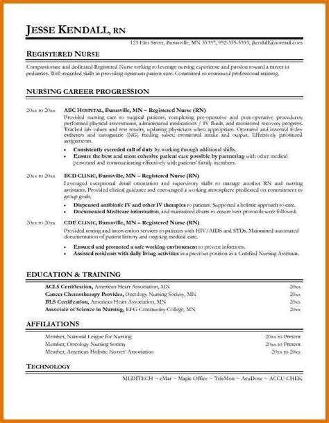 graduate nurse resume   graduate rn resume
