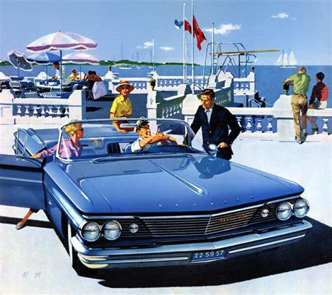 Plan59 :: Classic Car Art :: Vintage Ads :: 1960 Pontiac ...